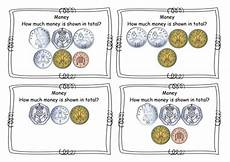 money matching worksheets ks1 2588 year 2 money total of coins addition to 163 1 task cards challenge cards new curriculum