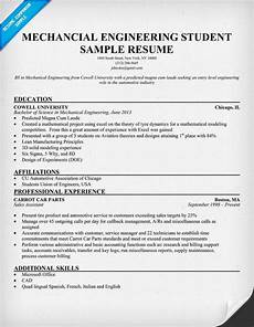 mechanical engineering student resume resumecompanion com resume sles across all