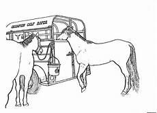 pferde zum ausdrucken