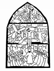Ausmalbilder Ostern Biblisch Glasfenster Geburt Ostern Pfingsten Ausmalbilder
