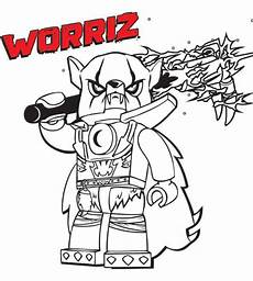 lego coloring pages with characters chima ninjago city