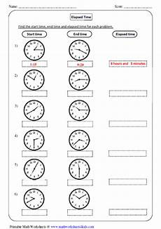 elapsed time worksheets 5th grade word problems 3290 elapsed time worksheets