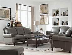 leather livingroom furniture juliette battleship grey leather living room set from