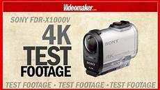 sony fdr x1000v 4k test footage in 4k
