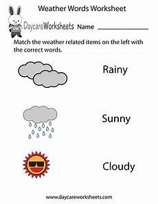 weather words worksheets 14703 free printable weather words worksheet for preschool