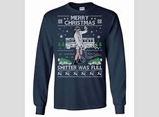 ugly christmas sweater shitters full