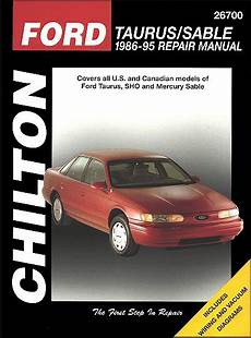 best auto repair manual 1995 ford taurus on board diagnostic system ford taurus mercury sable repair manual 1986 1995 chilton 26700