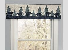 Timberland Plaid Bear Valance