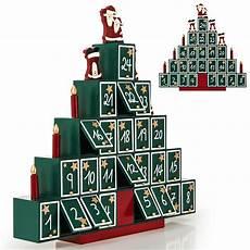 calendrier de l avent en bois 192 remplir soi m 234 me pyramide