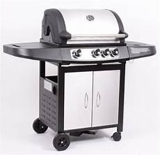 edelstahl grill gas profi edelstahl gas grill gasgrill grillwagen bbq 3 1 ebay