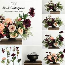 diy silk flower arrangement in 2019 fall decor diy