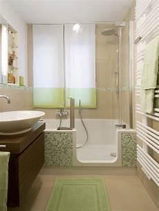 kleine bäder einrichten mini badezimmer einrichten