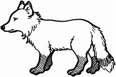 Arctic Fox Coloring Sheet Arctic Animal Silhouettes Search Fox Coloring