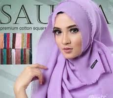Jual Harga Jilbab Kerudung Saudia Ssegiempat