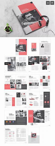 the corporate brochure template indesign indd a4