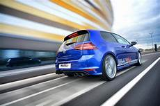 volkswagen golf 7 r gets sports exhaust system from
