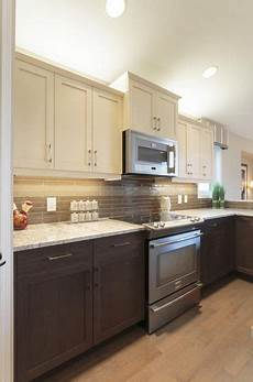 rev your kitchen with these gorgeous two tone kitchen cabinets homesthetics inspiring