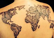 beste tattoos der welt creative map tattoos for the traveling type