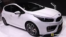 Kia Ceed 2017 - 2017 kia ceed gt exterior and interior walkaround 2017
