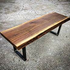 Condo Sized Coffee Tables live edge black walnut coffee table by barnboardstore