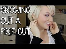 growing out a pixie cut how to cut your hair youtube