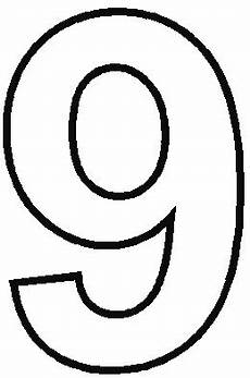Number Nine Coloring Number 9 Coloring Pages Free On Clipartmag