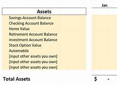 free personal balance sheet template microsoft excel thirty something millionaire