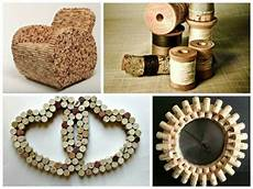 crafting with corks 55 cool deco items and furniture