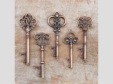 50 Key Bottle Openers Vintage Skeleton Keys Wedding Favors