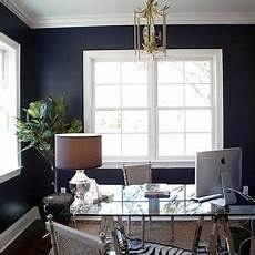 Navy Blue Home Decor Ideas by Navy Blue Office Transitional Den Library Office