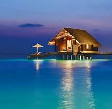 schönste häuser der welt auf dem wasser in overwater bungalows 252 ber der lagune