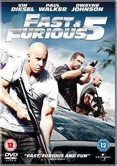 Fast And Furious 5 Dvd Zavvi