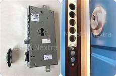 apertura porta impronta digitale porta blindata elettronica chiusura automatica e serratura