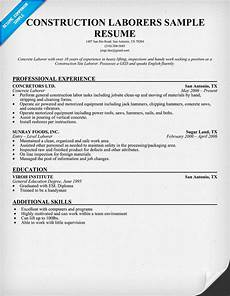 construction worker resume template free resume templates