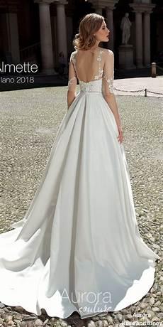 princess aline sleeved open back wedding dresses almette princess aline sleeved open back wedding dresses almette