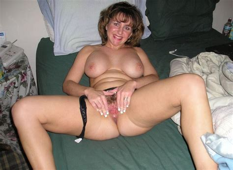Hairy Mature Wife