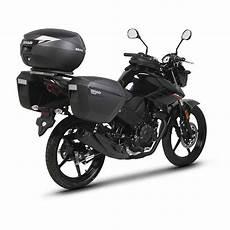 shad side master 3p system yamaha ys 125 black motardinn