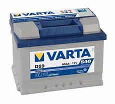 Varta D59 Blue Dynamic Autobatterie 12v 60ah Der