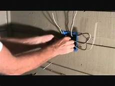 connecting 2 electrical outlets arranging the ground wires youtube
