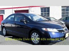 2010 Honda Civic DX Used Cars in Baltimore Maryland 21221