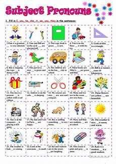 subject pronouns worksheet free esl printable worksheets made by teachers