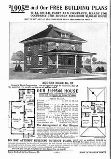 sears and roebuck house plans 1908 sears roebuck and co kit house no 52 historic