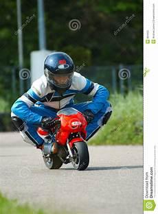 minibike racing stock image image of pilot speed racing