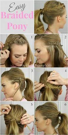 15 cute and easy ponytail hairstyles tutorials school