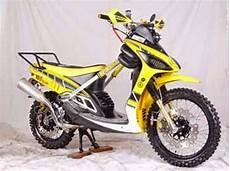 Matic Modif Trail by Modifikasi Trail Motor Yamaha Matic X Ride Terbaru 2016