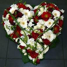 cœur de fleurs deuil blanc livraison toulouse