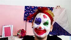 Clown Make Up Tutorial Karneval 2015 Zirkusclown