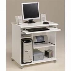 city bureau informatique classique l 76 cm blanc mat