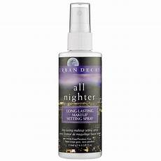 decay all nighter lasting make up setting spray