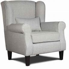 deco in fauteuil en tissu gris king king gris fauteuil